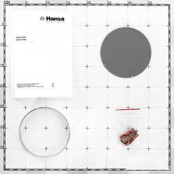 Вытяжка подвесная Hansa OSC511BH коричневый