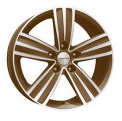 Автомобильный диск  K&K да Винчи 7x16 5/130 ET 43 DIA 84,1 Алмаз брасс
