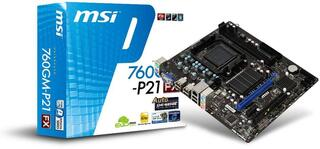 Плата MSI Socket-AM3+ 760GM-P21 (FX) AMD760G/SB710 2xDDR3-1333 PCI-E PCI 4ch DSub 4xSATA LAN mATX