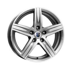 Автомобильный диск литой K&K Андорра 6x15 5/105 ET 39 DIA 56,6 Алмаз аргентум