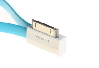 Кабель Solomon USB - 30-pin синий