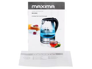 Электрочайник Maxima MK-G461 черный