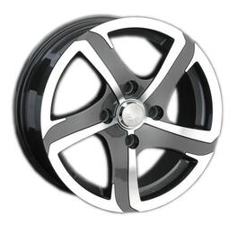 Автомобильный диск Литой LS 262 6,5x15 4/100 ET 40 DIA 73,1 BKF