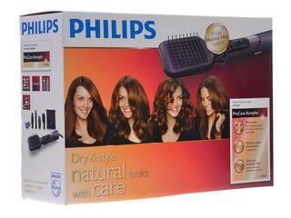 Фен-щетка Philips HP 8656 фиолетовый