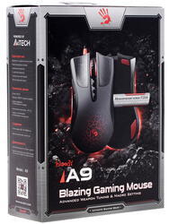 Мышь проводная A4Tech Bloody Blazing A9/A90