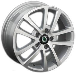 Автомобильный диск литой Replay SK22 6,5x16 5/114,3 ET 40 DIA 67,1 Sil