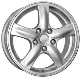 Автомобильный диск Литой K&K КС307 6,5x16 5/114,3 ET 55 DIA 64,1 Сильвер