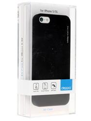 Накладка + защитная пленка  Deppa для смартфона Apple iPhone 5/5S/SE