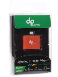 Переходник DIOPRO VAP-CBL5212 30-pin - Lightning 8-pin оранжевый