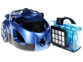 Пылесос Rolsen C-1285TSF синий