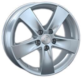 Автомобильный диск литой Replay TY156 7x17 5/100 ET 50 DIA 57,1 Sil