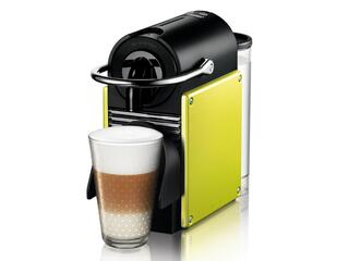 Кофеварка DeLonghi Nespresso EN 125.L желтый