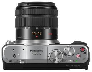 Камера со сменной оптикой Panasonic Lumix DMC-GF6K Kit 14-42mm