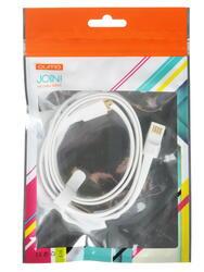 Кабель Qumo USB - micro USB белый