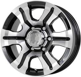 Автомобильный диск литой Скад Тритон 7x16 5/114,3 ET 48 DIA 74,1 Алмаз