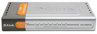 Коммутатор D-Link DES-1008D/PRO/RV