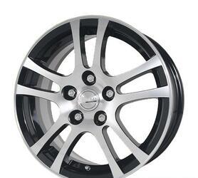 Автомобильный диск Литой Скад Ариэль 6,5x15 5/110 ET 40 DIA 67,1 Селена-алмаз