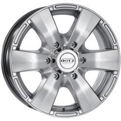 Автомобильный диск Литой Dotz Luxor 8x17 6/139,7 ET 20 DIA 110