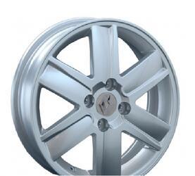 Автомобильный диск Литой Replay RN2 5,5x14 4/100 ET 43 DIA 60,1 Sil