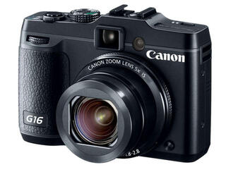 Компактная камера Canon PowerShot G16 черный