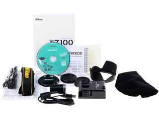 Зеркальная камера Nikon D7100 Kit 18-200mm VR II черный