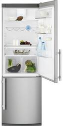 Холодильник с морозильником Electrolux EN3850AOX серебристый
