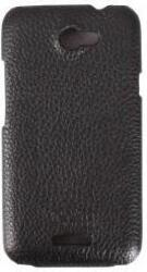 Чехол - книжка CLEVER SHELLCASE  для HTC One X кожа/черный