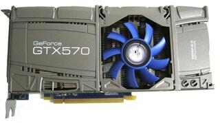 Видеокарта KFA2 GeForce GTX 570 OC
