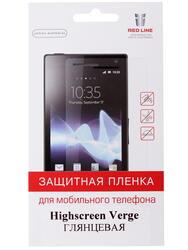 """5""""  Пленка защитная для смартфона Highscreen Verge"""