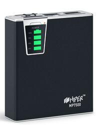 Портативный аккумулятор Hiper Mobile Power 7500 mAh Black черный