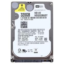 "Жесткий диск 2.5"" SATA-II  320Gb Western Digital AV-25 [WD3200BUDT] 5400rpm Cache 32MB"