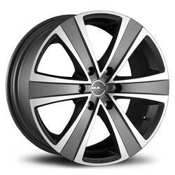Автомобильный диск Литой MAK Fuoco 6 7,5x17 6/114,3 ET 30 DIA 66,1 Ice Titan