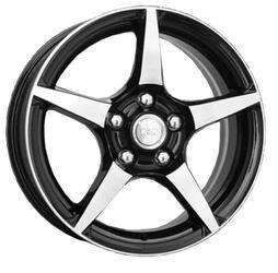 Автомобильный диск Литой K&K R-1 6,5x16 5/100 ET 45 DIA 67,1 Алмаз черный