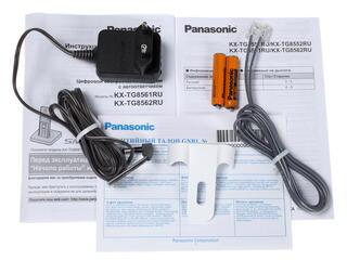 Телефон беспроводной (DECT) Panasonic KX-TG8551RUW