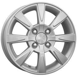 Автомобильный диск Литой K&K Антей 5,5x13 4/100 ET 35 DIA 67,1 Блэк платинум