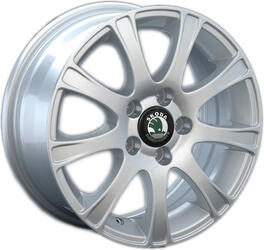 Автомобильный диск Литой Replay SK8 6x14 5/100 ET 40 DIA 57,1 Sil
