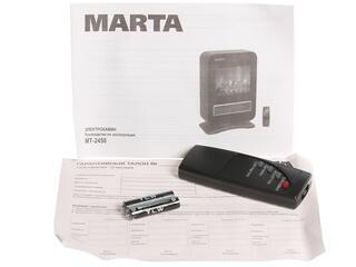 Электрокамин Marta MT-2450 красный