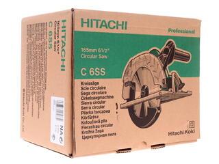 Пила дисковая Hitachi C6SS