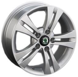 Автомобильный диск литой Replay SK3 6,5x16 5/112 ET 46 DIA 57,1 Sil