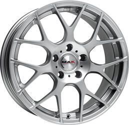 Автомобильный диск Литой MAK DTM-One 7x17 5/114,3 ET 55 DIA 64,1 Hyper Silver