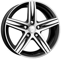 Автомобильный диск Литой K&K Андорра 6,5x16 5/100 ET 45 DIA 67,1 Алмаз черный