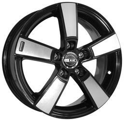 Автомобильный диск Литой K&K Кон-Тики 6,5x16 5/108 ET 43 DIA 65,1 Алмаз черный