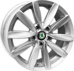 Автомобильный диск литой Replay SK53 7x16 5/112 ET 45 DIA 57,1 Sil