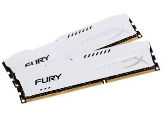 Оперативная память Kingston HyperX FURY White Series [HX316C10FWK2/16] 16 ГБ