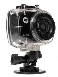Экшн видеокамера HP AC100 черный