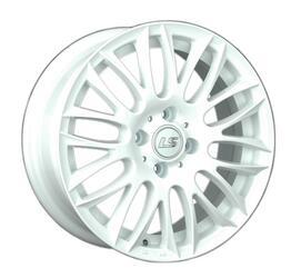 Автомобильный диск литой LS 475 6,5x15 4/98 ET 32 DIA 58,6 White