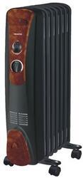 Масляный радиатор Marta MT-2411 черный, коричневый