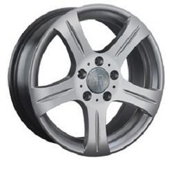 Автомобильный диск литой Replay MR25 7,5x17 5/112 ET 37 DIA 66,6 Sil