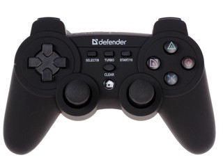 Геймпад Defender Scorpion L2 черный