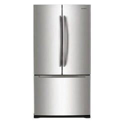 Холодильник с морозильником Samsung RF62UBPN серый
